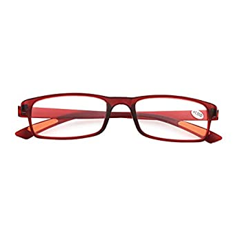 1.0 1.5 2.0 2.5 3.0 3.5 4.0 Diopter/ï/¼/ŒReaders Spring Hinge Glasses for Reading For Most Face Shape And Size. Hejia Resin Framed Eyeglass Reading Glasses