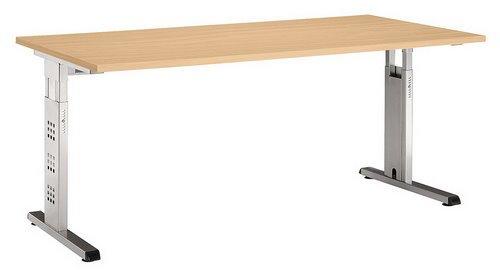 Unbekannt Schreibtisch Mega 180 X 80 Buche Amazonde Küche Haushalt