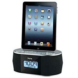 iHome iD38 Desktop Clock Radio - Stereo - Apple Dock Interface - Proprietary Interface