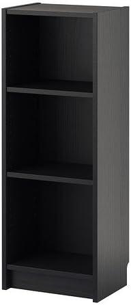 BILLY de IKEA - librería, negro-marrón - 40 x 28 x 106 cm ...