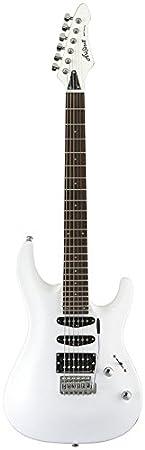 Aria MACBL - Guitarra, color blanco: Amazon.es: Instrumentos musicales