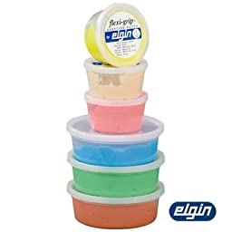 Elgin Flexi-Grip 1lb Red Med. Soft