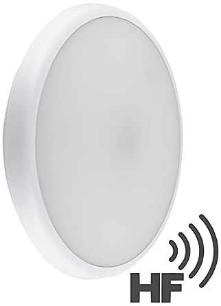 Lámpara de techo LED 22 W IP54 con sensor de movimiento HF - SENS ...
