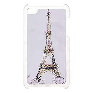 ZCL Umbrella Pattern Hard Case with Rhinestone for iPod Touch 4