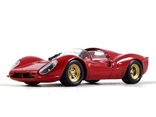 - Ferrari 330 P4 Red Color 1:43 Scale Racing Vehicle Diecast Model Car 1967 Year