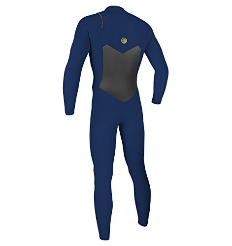 O'Neill Men's O'Riginal 4/3mm Chest Zip Full Wetsuit, Navy/Navy, X-Small by O'Neill Wetsuits (Image #2)