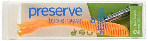 Preserve Razor Blade Triple, 2 - Razor Nickel