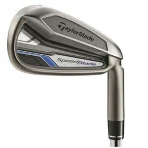 TaylorMade SpeedBlade Single Iron, #4 Iron, Steel, Stiff flex, right Iron Individual Golf Club Equipment