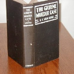 THE GREENE MURDER CASE BY S.S. VAN DINE 1928/1st Rare