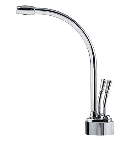 Franke lb9280 100 HT caliente y agua fría punto de uso grifo, níquel satinado
