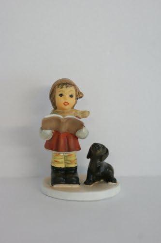 M.I. Hummel Miniature Figurine – Wintertime Duet