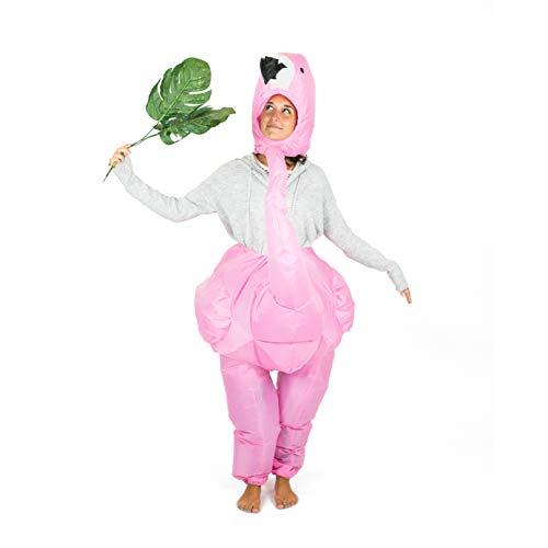 Bodysocks Adult Inflatable Flamingo Fancy Dress Costume ()