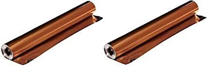 Copper Roll Only St Louis Crafts 38 Gauge Aluminum Foil 2- 12 Inches x 25 Feet Pack