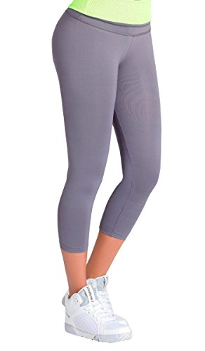 Lowla Fashion Shapewear Pantalon Deportivo 41233 Women Activewear LeggingsSportswear For Women Activewear Leggings Gris / Grey M