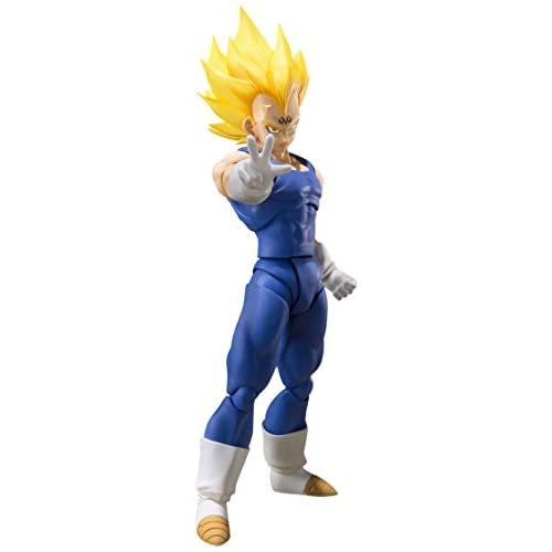 Tamashii Nations Bandai S.H. Figuarts Majin Vegeta Dragon Ball Z Action Figure