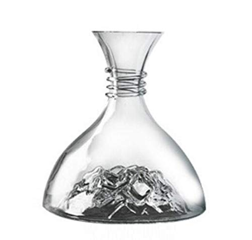 - Fast Decanter Lead-free Crystal Glass Iceberg Red Wine Grape Liqueur Wine Separator Red Wine Glass