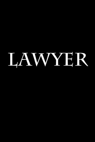 Lawyer: Notebook por Wild Pages Press