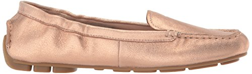 Loafer Gold Taryn Driving Kristine Rose Women's Powder Style Metallic Rose F6wf0xvF
