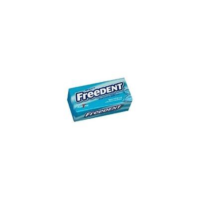 Freedent Gum - Spearmint, Plen T Pak, 15 stick gum, 12 count