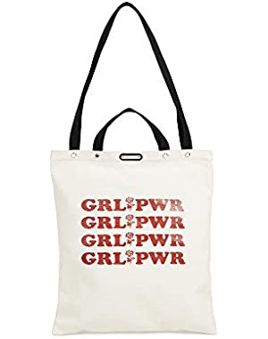 Women's Large Girl Power Tote