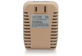 RadioShack 50W Foreign Travel Voltage Converter 273-1401 by RadioShack