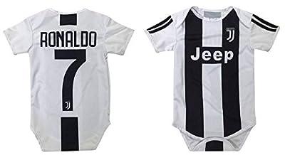 Kitbag Cristiano Ronaldo #7 Soccer Jersey Baby Romper Infant Toddler Onesie Premium Quality