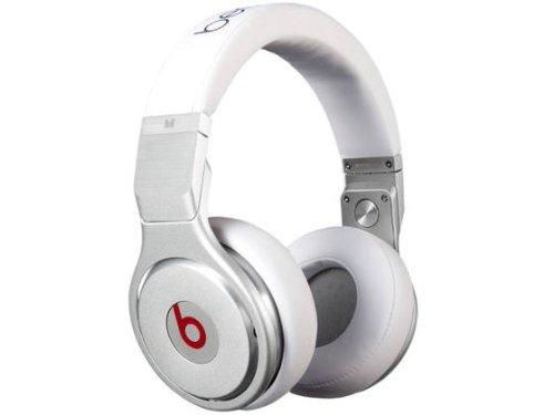 Monster Beats Pro High-Performance Headphones (White)