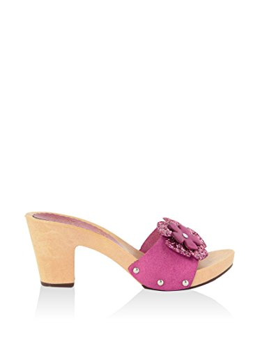 hh-Made in Italy Mules Fucsia EU 38