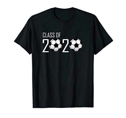 Class of 2020 Graduating Senior Soccer Ball Design  T-Shirt (Best Class T Shirt Design)