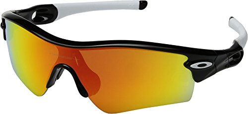 Oakley Men's Radar Path Polarized Black/Fire One Size