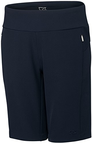 Cutter and Buck Pacific Pull On Golf Shorts 2017 Women Liberty Navy Medium