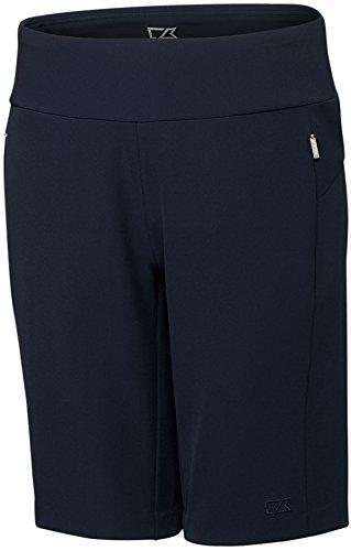 Cutter & Buck Golf Shorts - Cutter and Buck Pacific Pull On Golf Shorts 2017 Women Liberty Navy Medium