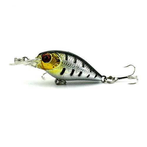 - Nafanio 10pc Fishing Lure Super Mini Crankbait 5cm 4.4g Hard Bait