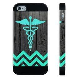 Houseofcases Teal Rn Nurse Medical On Dark Wood For SamSung Note 3 Phone Case Cover - Hybrid Plastic And pragmatic Silicon For SamSung Note 3 Phone Case Cover