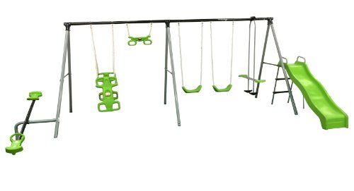 "Flexible Flyer ""World Of Fun"" Swing Set"