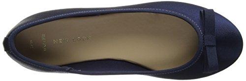 New Look Wide Foot Jatine - Zapatillas de ballet Mujer Azul (Blue)
