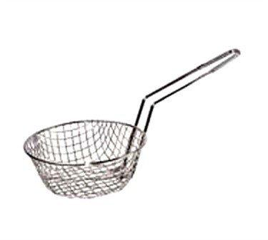 (Winco Culinary Basket, 12-Inch Diameter, Coarse Mesh)