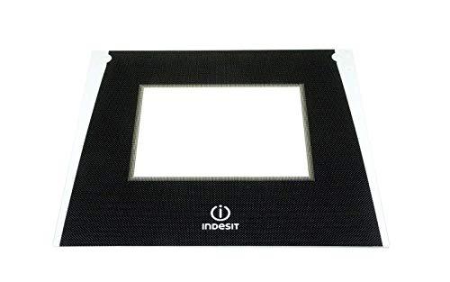 Indesit - vidrio Exterieur puerta horno PW - c00286941 para horno ...