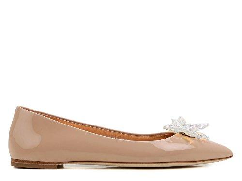 Giuseppe Zanotti Design Damen E76022003 Rosa Lackleder Ballerinas