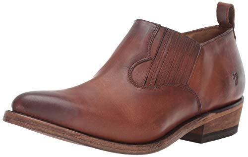 FRYE Women's Billy Shootie Western Boot, Cognac