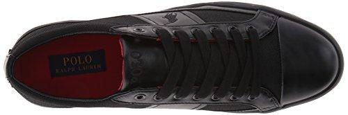 Polo Ralph Lauren Mens Churston Pique Nylon Fashion Sneaker Black k1DTSjE5