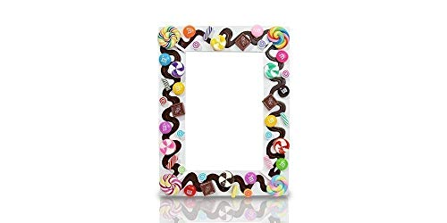 Hand Crafted Picture Frame - Sweet Mix Candy Decor Frame