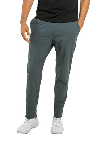 OLIVERS Apparel, Mens 4-Way Stretch, Water Repellent, Bradbury Athletic Jogger Pants (Small, Cobalt)