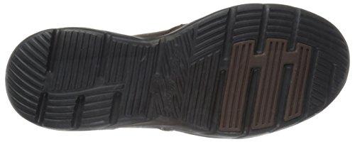 Skechers Usa Mænds Corven Slip-on Dagdriver Mørkebrun BvX8g