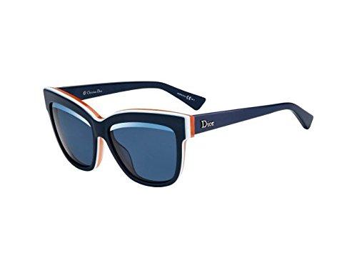Christian Dior Graphic/S Sunglasses Blush White Orange / ()