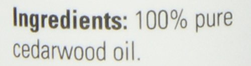 NOW  Cedarwood Oil, 1-Ounce (Pack of 2)