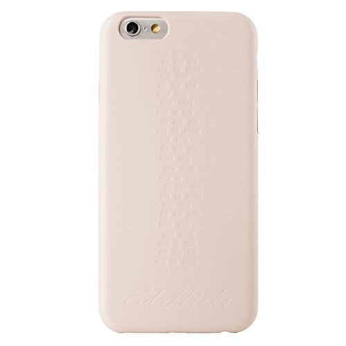 Réjouissez-vous Ed Hicks Coque arrière en cuir pour iPhone 6 Beige