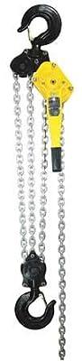 Lever Chain Hoist, Cap 18000Lb, Lift 10Ft