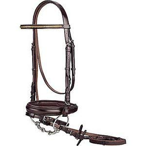 Crown Clincher Bridle Brown Cob Size
