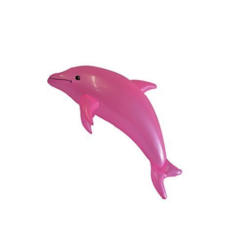Inflatable Colored Dolphin Prop Decoration Pink